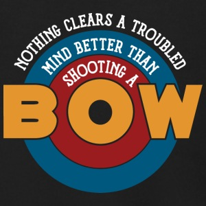 Shooting a bow clears a troubled mind - Men's Zip Hoodie