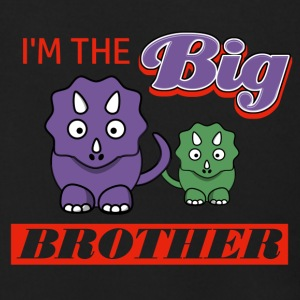 I'm the Big Brother designs - Men's Zip Hoodie
