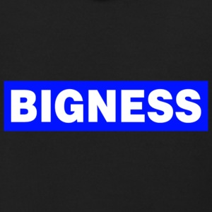 BIGNESS Blue - Men's Zip Hoodie