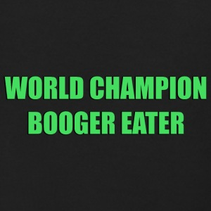 World Champion Booger Eater - Men's Zip Hoodie