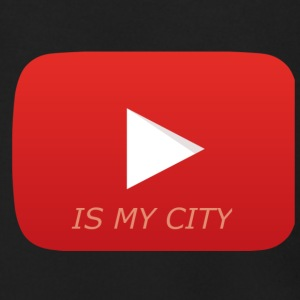 Youtube is my city - Men's Zip Hoodie