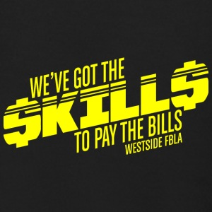 WE VE GOT THE SKILLS TO PAY THE BILLS WESTSIE FBLA - Men's Zip Hoodie