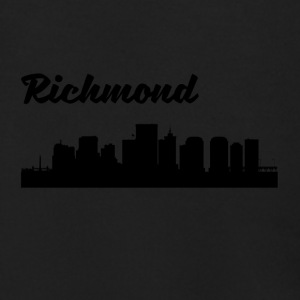 Richmond VA Skyline - Men's Zip Hoodie