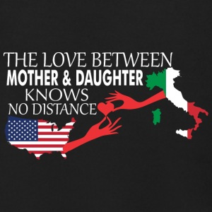 Mother & Daughter Knows No Distance US & Italy - Men's Zip Hoodie