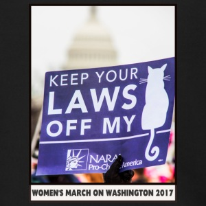 Women's March on Washington 2017-Keep your laws - Men's Zip Hoodie