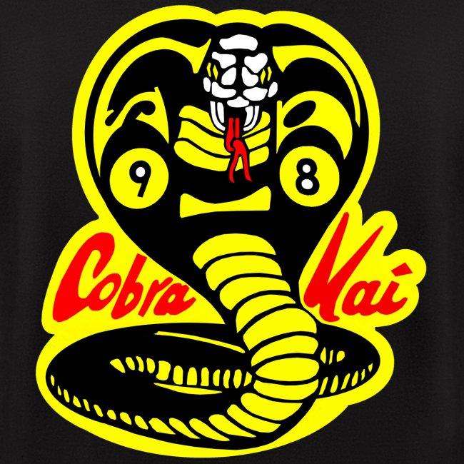 Cobra Kai Pool Team Logo - Mens Zip Hoodie | Cobra Kai