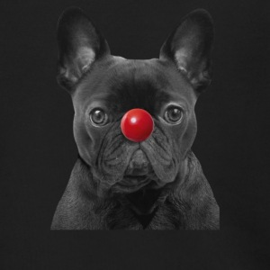 Red Nose Day Frenchie - Men's Zip Hoodie