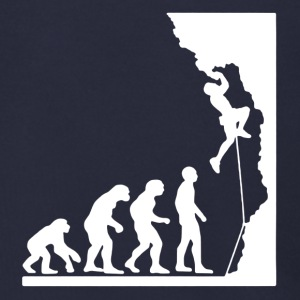 Rock Climbing Evolution Shirt - Men's Zip Hoodie