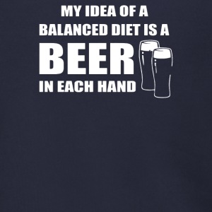 Beer drinkers Beer Diet Balance - Men's Zip Hoodie