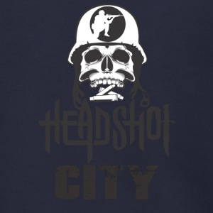 Headshot City - Men's Zip Hoodie