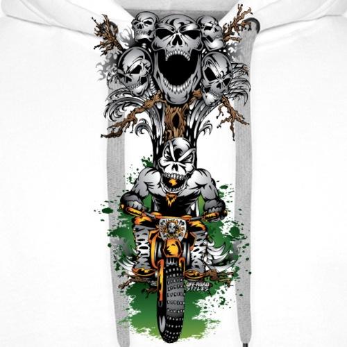 Skull Tree Halloween - Men's Premium Hoodie