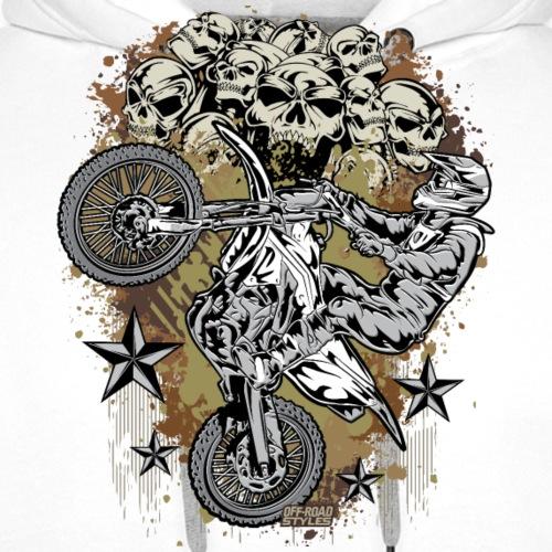 Motocross Mud Skulls - Men's Premium Hoodie
