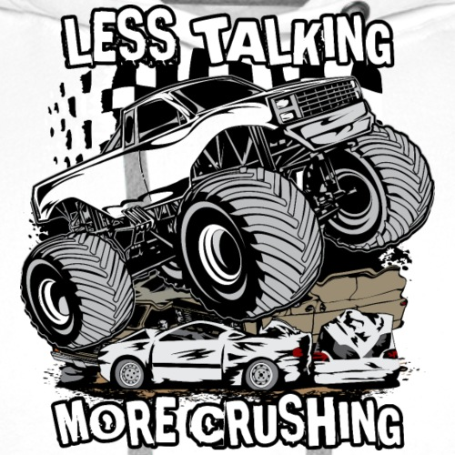 Monster Truck Crush - Men's Premium Hoodie