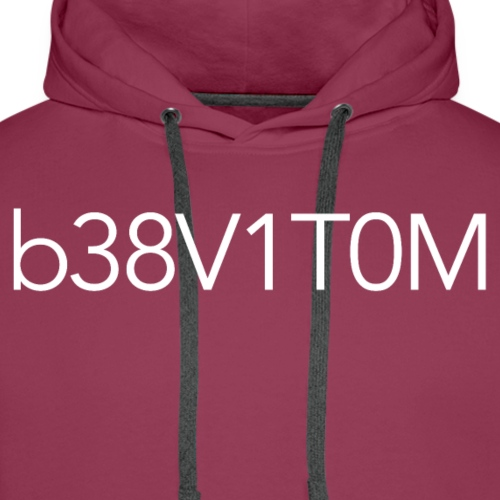 MOTIV8TED - Obvious Characters (White) - Men's Premium Hoodie