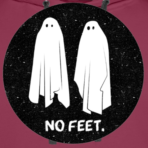 Ghosts No Feet - Men's Premium Hoodie
