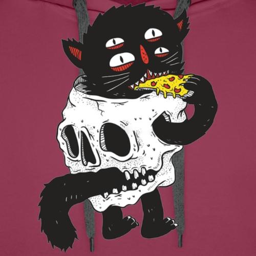 Skull Cat - Men's Premium Hoodie
