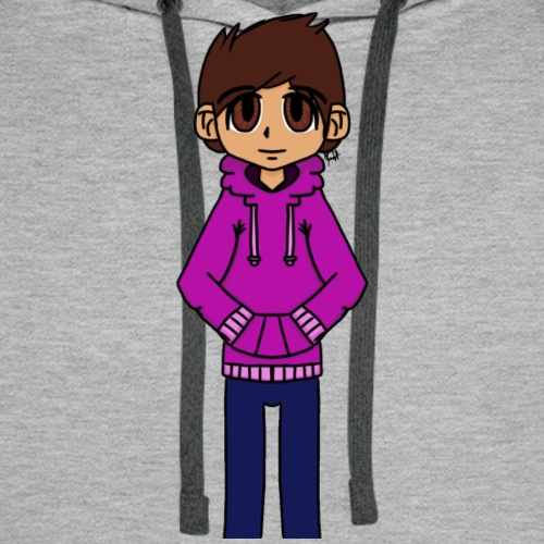 My Character in a more pointy style? - Men's Premium Hoodie