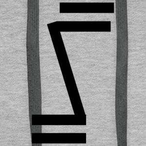 Sosa Brand Initial Logo - Men's Premium Hoodie