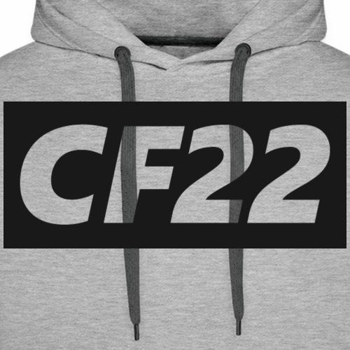 CF22 Box Logo - Men's Premium Hoodie