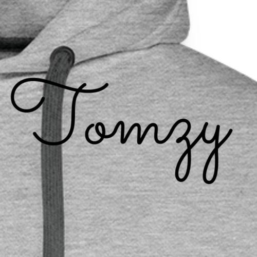 Tomzy Signature White - Men's Premium Hoodie