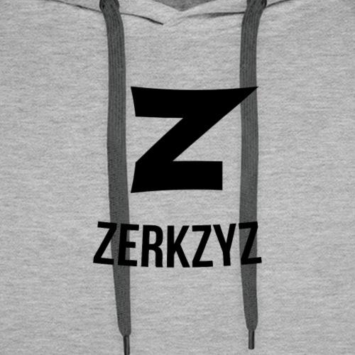 Zerkzyz Logo Hoodie - Men's Premium Hoodie