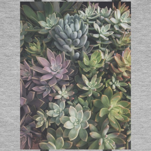 Faded Succulents - Men's Premium Hoodie