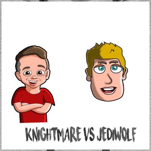 KNIGH VS JEDIWOLF - Men's Premium Hoodie