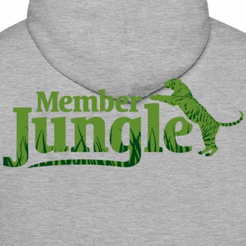 Member Jungle Logo (green) - Men's Premium Hoodie