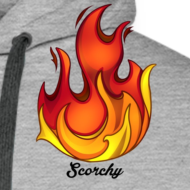 Scorchy Logo Black