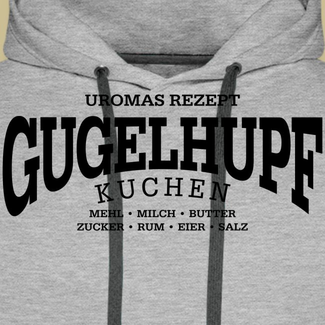 Gugelhupf (black)