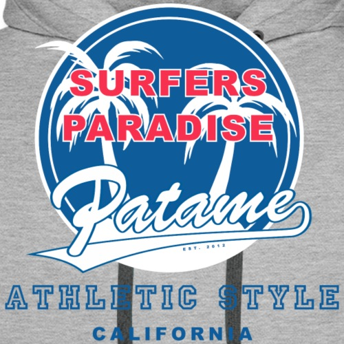 Surfers Paradise Athletic Blue - Men's Premium Hoodie