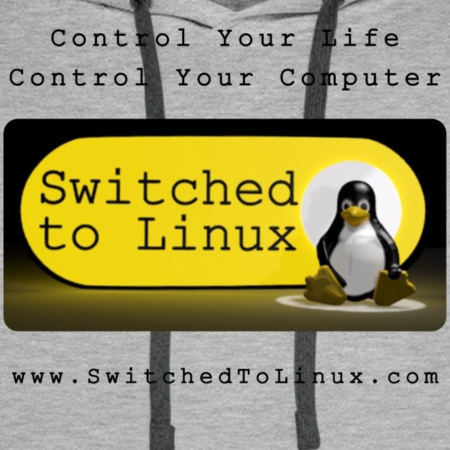 Switched to Linux Logo with Black Text