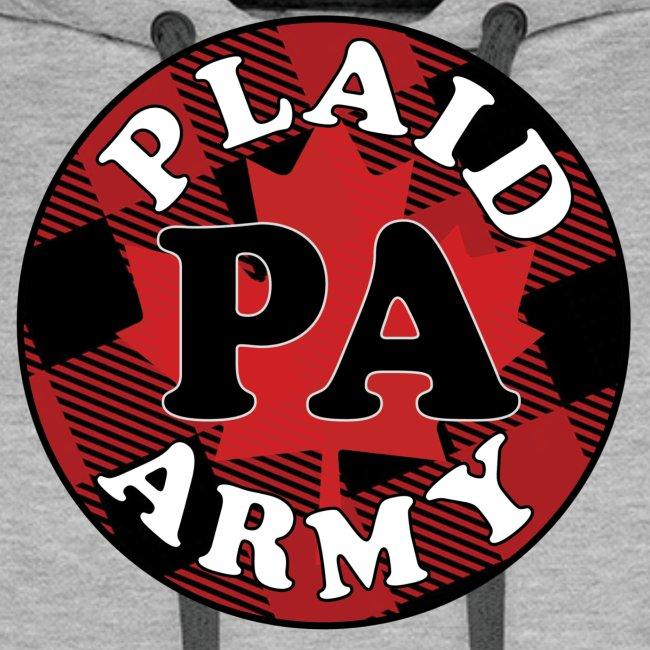 plaid army round