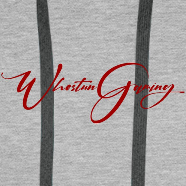 WhoStun gaming small calligraphy design RED