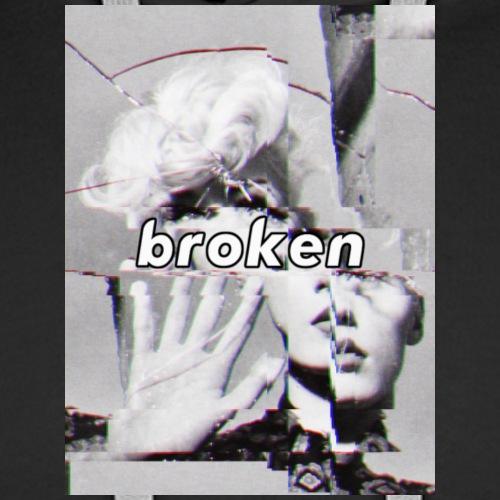 Broken Hoodie - Men's Premium Hoodie