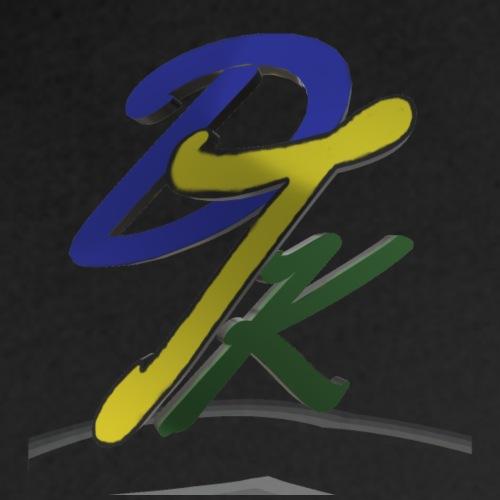 dtk 3d style logo - Men's Premium Hoodie