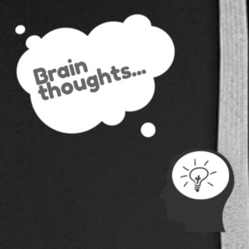 Brain Thoughts - Men's Premium Hoodie