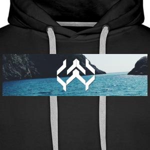 Kay Supply Company Logo Ocean - Men's Premium Hoodie