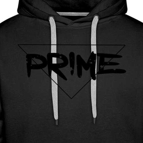 Black Prime Logo - Men's Premium Hoodie