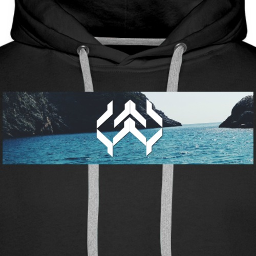 Kay Supply Company Logo Ocean - Men's Premium Hoodie