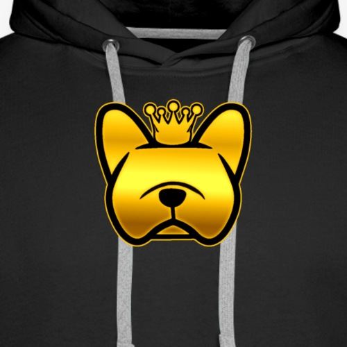 Golden Dog - Men's Premium Hoodie
