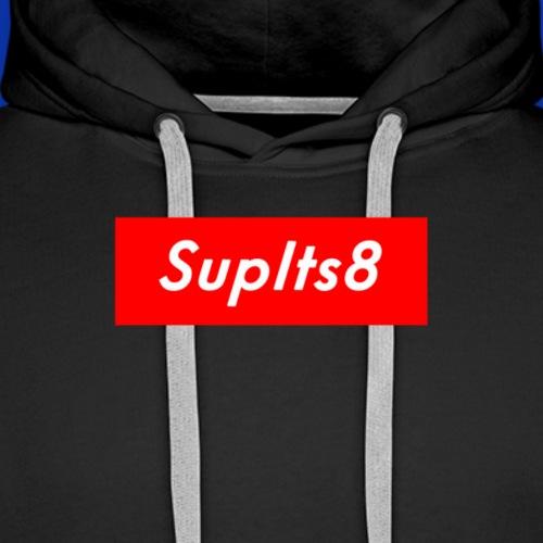 SupIt'sEight Supreme-based Logo - Men's Premium Hoodie