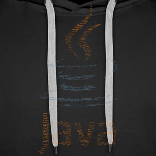 Java Logo Shirt - Men's Premium Hoodie