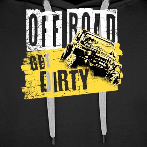 Off Road Get Dirty - Men's Premium Hoodie