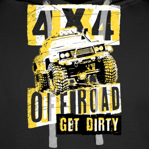 4x4 oFF ROAD - Men's Premium Hoodie