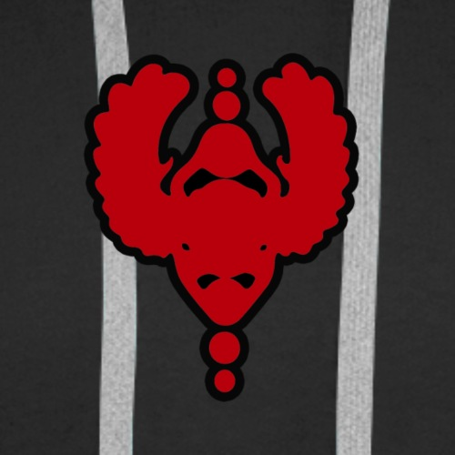Scarab Eleven Heart Beetle - Men's Premium Hoodie