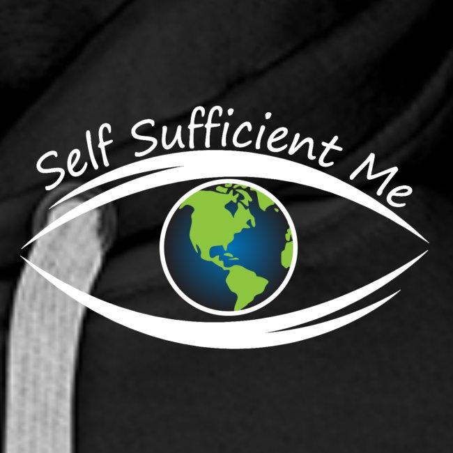 Self Sufficient Me Logo white small coy design