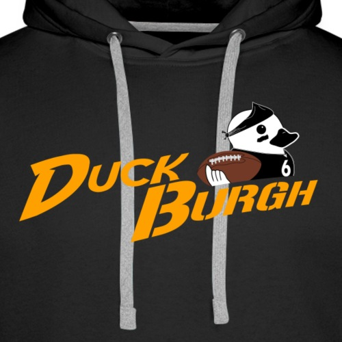 DuckBurgh #6 - Men's Premium Hoodie