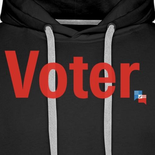 Voter (in red) - Men's Premium Hoodie