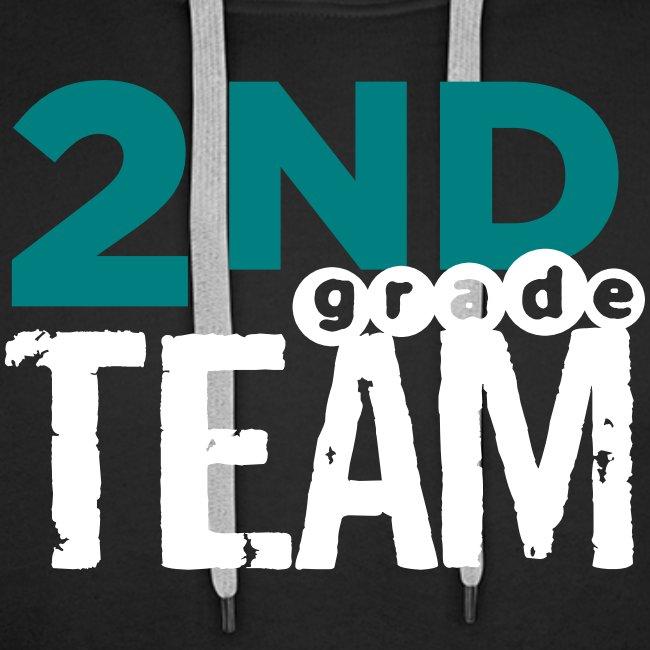 Bold 2nd Grade Team Teacher T Shirts